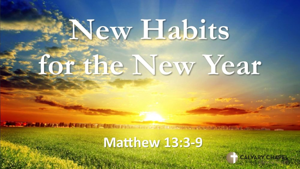 New Habits for a New Year Image