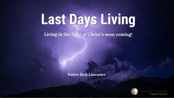 Revelation - Last Days Living