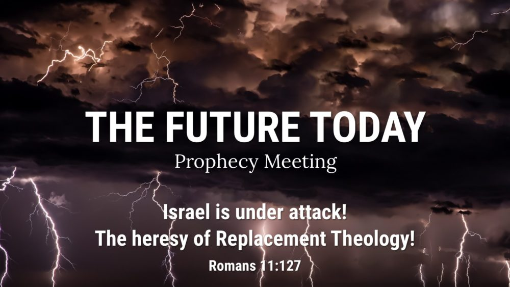 Israel is under attack! The heresy of Replacement Theology!  Image