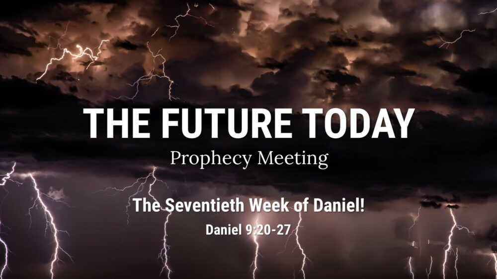The Seventieth Week of Daniel – Daniel 9:20-27 Image