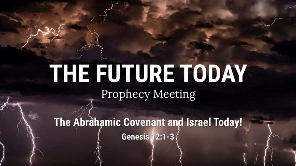 The Abrahamic Covenant and Israel Today! Genesis 12:1-3 Image