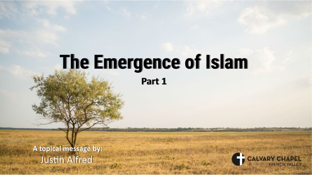 The Emergence of Islam Part 1