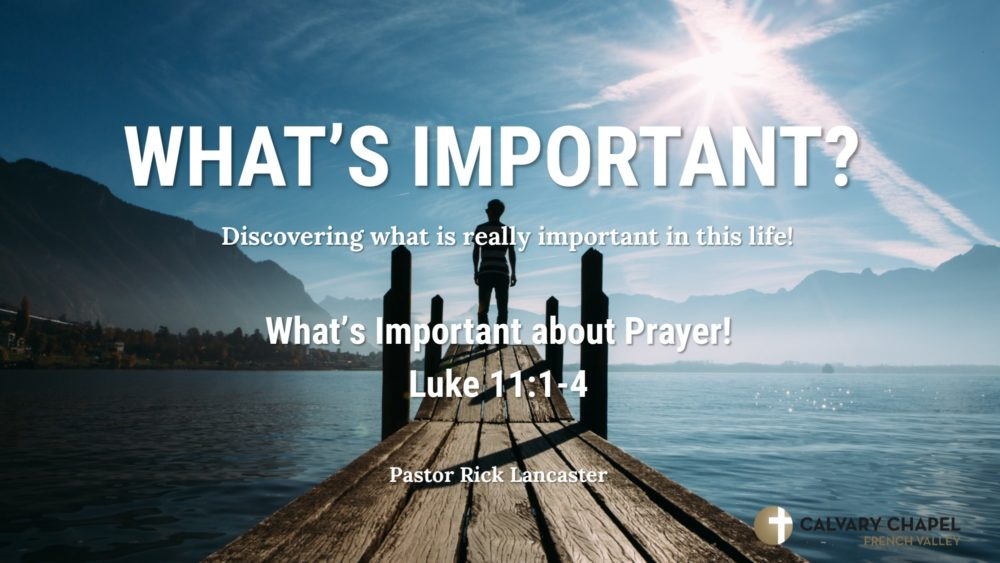 What\'s Important about Prayer! Image